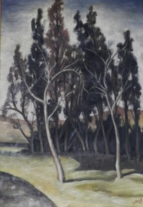 Les grands arbres 1957