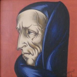 Femme au foulard bleu - 1953