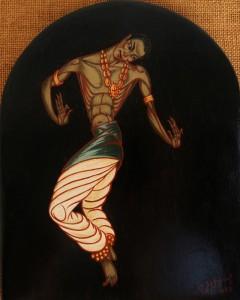 Danseur hindou - 1957