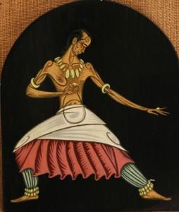 Danseur hindou - 1958