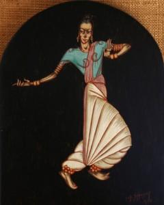 Danseuse hindoue - 1958
