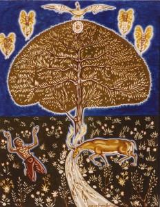 Le cerf altéré - 1981
