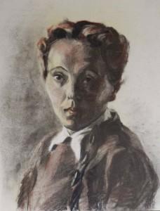Marie-Henriette fusain